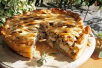 Пирог с грибами: рецепт ароматной выпечки