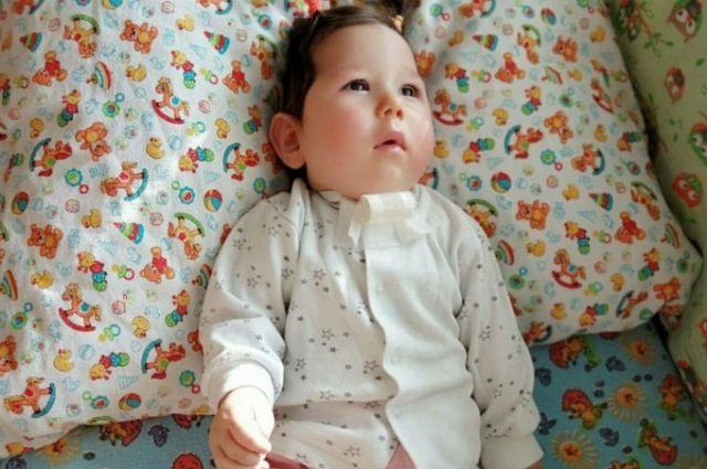 Сразу после рождения малышка пережила асфиксию.