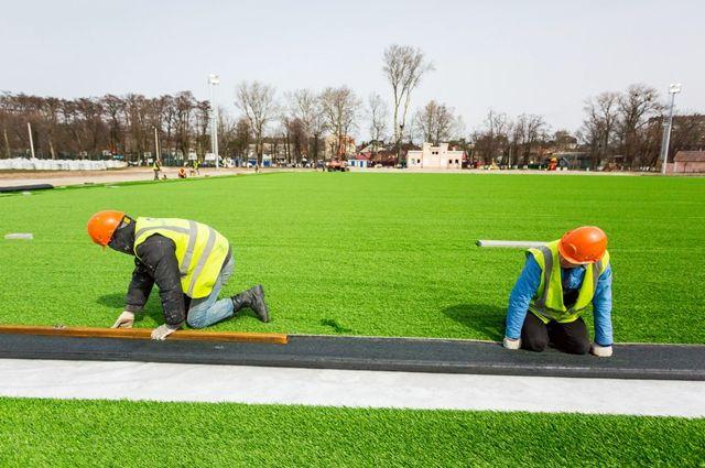 К лету в Балтийске откроется отремонтированный стадион