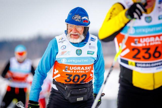 Кроме чемпионов на лыжню встали и любители разных возрастов и уровня подготовки