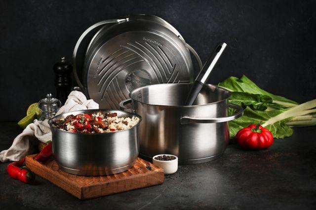 Швейцарский бренд Polaris представляет новую коллекцию посуды Solid из нержавеющей стали.