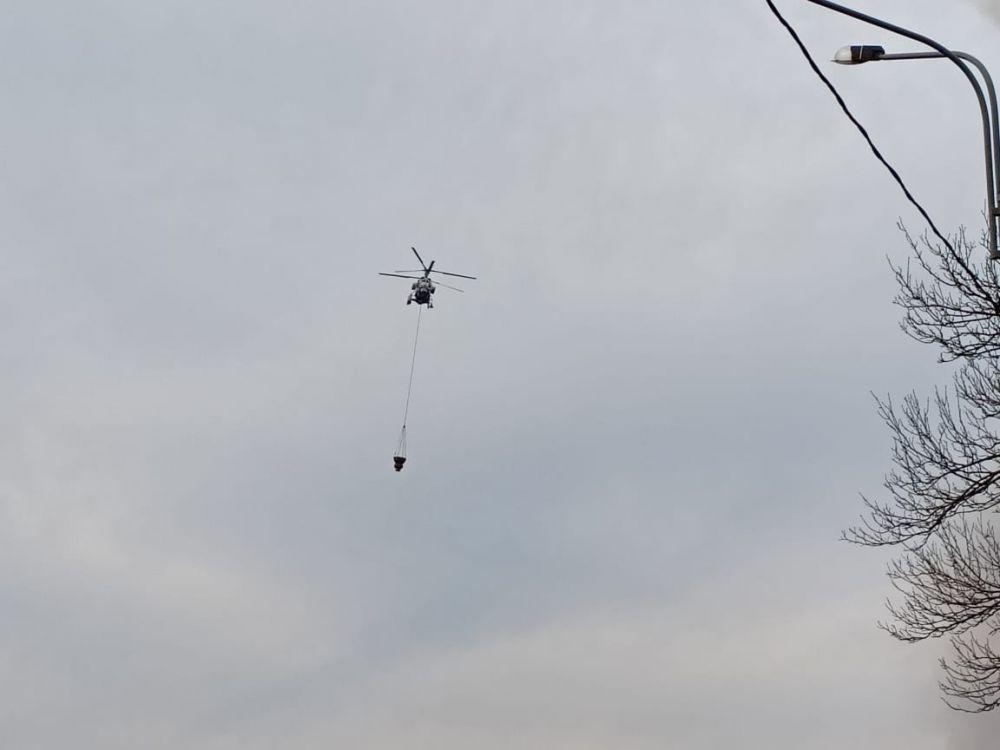 Главная надежда - вертолет
