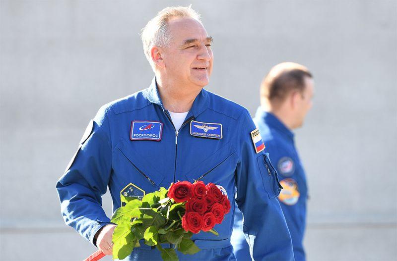 Герой Российской Федерации, лётчик-космонавт РФ, начальник группы отряда космонавтов «Роскосмоса» Александр Скворцов.