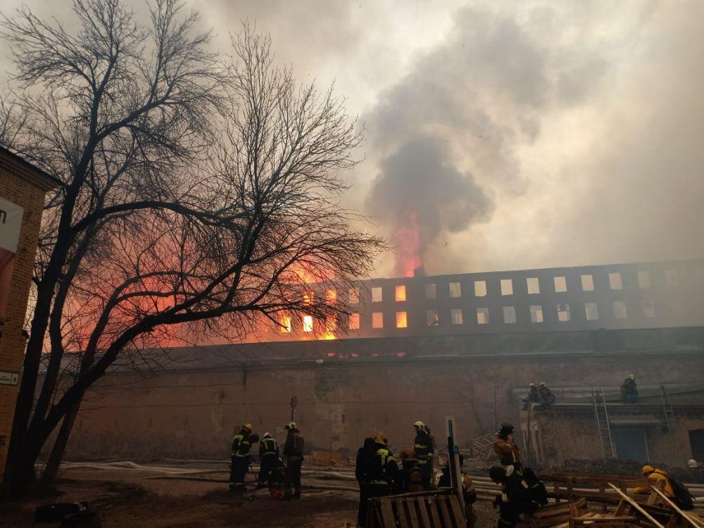 В огне уже погиб один человек, еще двое получили серьезные ожоги