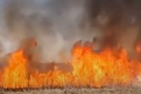 В Ровенской области возле АЗС возник пожар