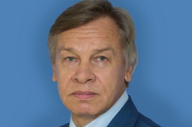 Пушков объяснил, почему в поздравлении Госдепа не было упоминания об СССР