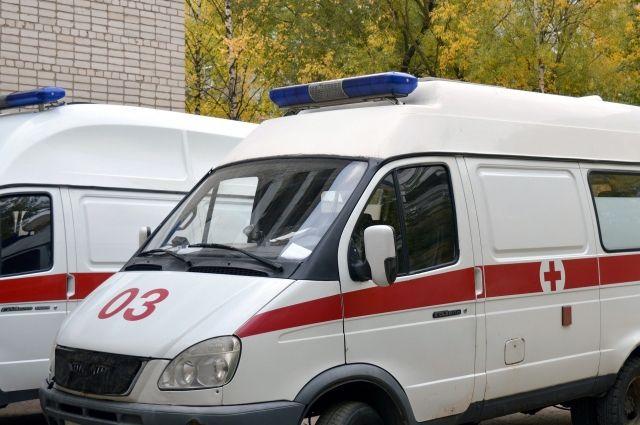 Ребенка в тяжелом состоянии доставили в больницу