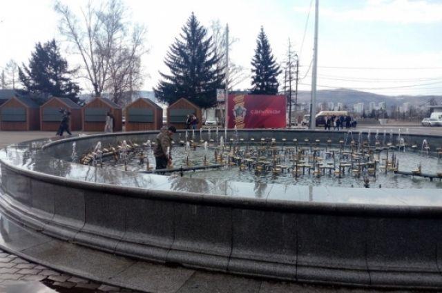 Сейчас фонтан находятся в стадии расконсервирования.