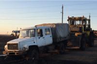 В Оренбургском районе в результате наезда трактора погиб мужчина.