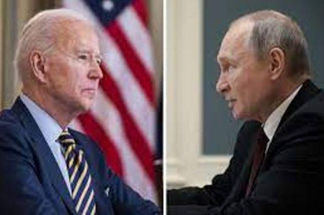 Байден в разговоре с Путиным обсудили ряд вопросов, включая Украину.