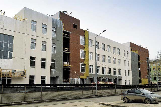 В новом четырёхэтажном корпусе смогут заниматься 400 учеников.