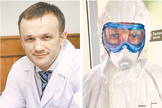 Валерий Вечорко умеет держать удар, он работал в «красной зоне»,  а не отсиживался в кабинете руководителя.