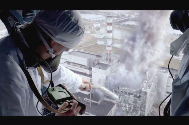 «Чернобыль», кадр из фильма.
