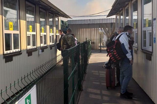Представители ОРЛО блокируют пересечение КПВВ для части граждан