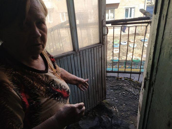 На балкон жители давно не выходят.
