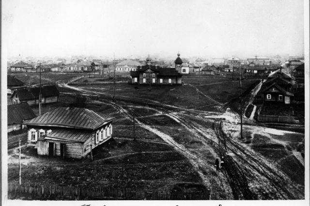 В 1930-е годы Кемерово был больше похож на деревню.
