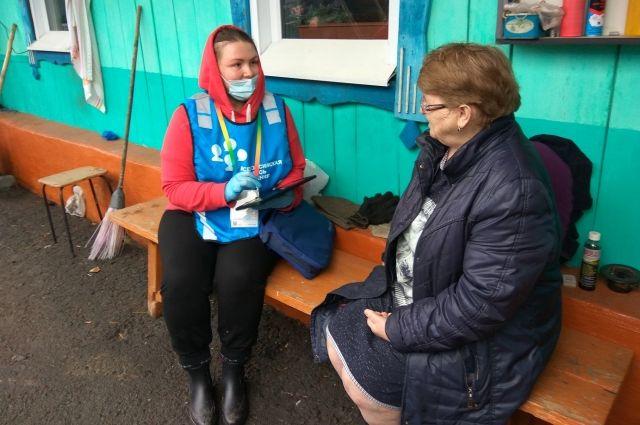 Жители посёлка Островное – пионеры всероссийской переписи населения.