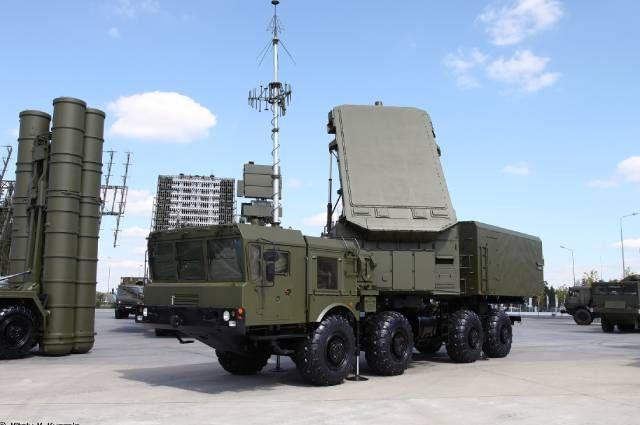 Радар дальнего обнаружения 92Н6А.