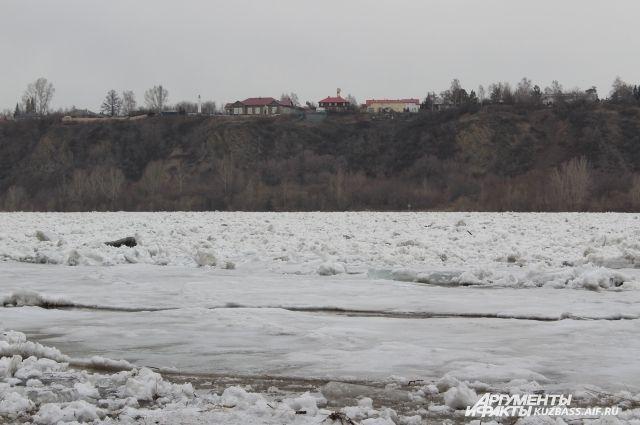 14 апреля ледоход наблюдался от Новокузнецка до Юрги.