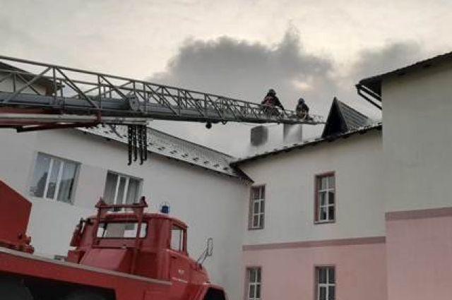 В Ивано-Франковской области загорелась больница для пациентов с COVID-19.