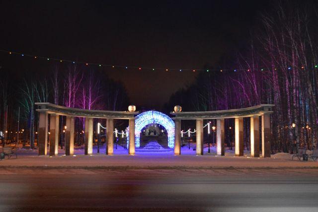 Парк Бориса Лосева - одно из любимых мест отдыха для горожан