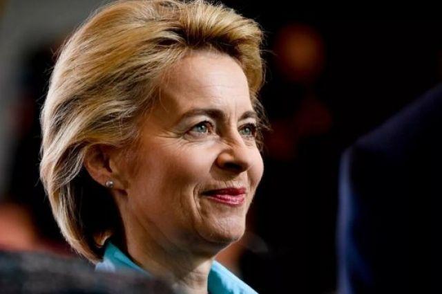 Глава Еврокомиссии Урсула фон дер Ляйен отказалась посетить Украину - СМИ