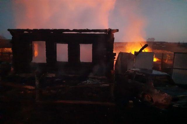 В МВД охарактеризовали мать погибших в пожаре на Урале детей
