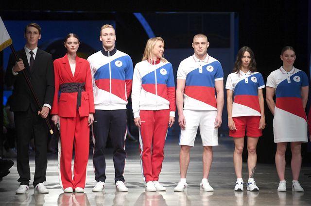 Новая коллекция официальной формы российских спортсменов для Олимпийских игр в Токио.