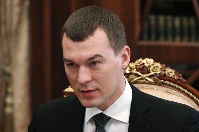 Временно исполняющий обязанности губернатора Хабаровского края Михаил Дегтярев.