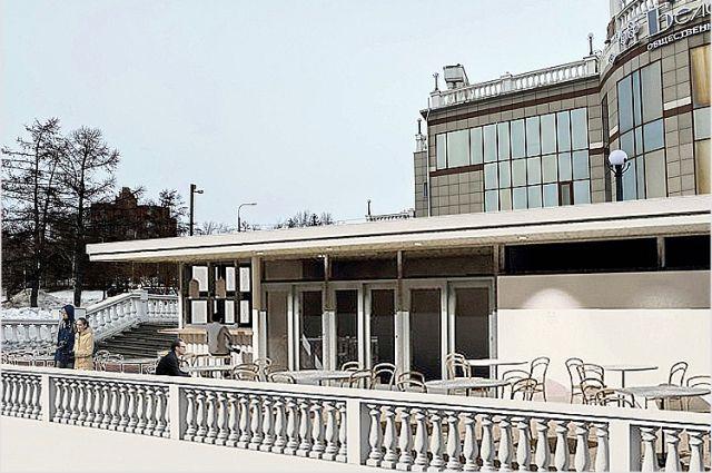 Здесь возведут летнюю конструкцию, которую будут сдавать в аренду бизнесменам.
