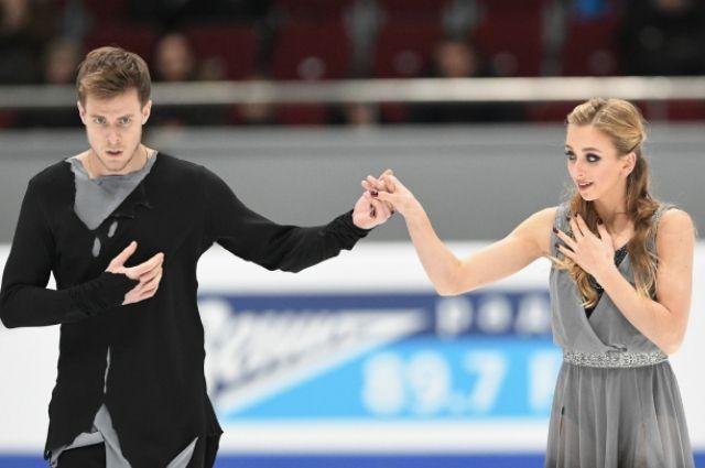 Виктория Синицина и Никита Кацалапов.