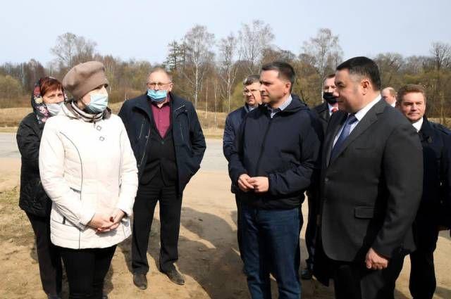 Рабочая поездка по селам и деревням Тверской области.