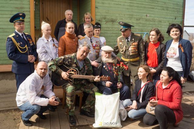 На экспозиции портреты участников войны, сделанные во время автопробега Ириной Якуниной.