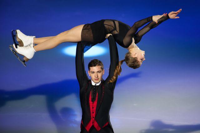 Анастасия Мишина и Александр Галлямов.