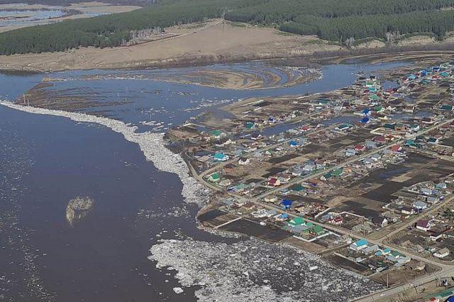 Паводок в Месягутово.