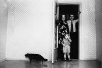 Советская семья в новой квартире, 1974 г.