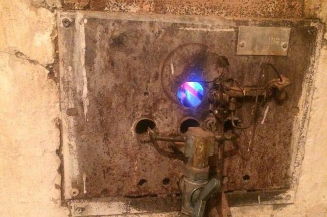 Взрыв произошел из-за скопления в печной трубе газов.