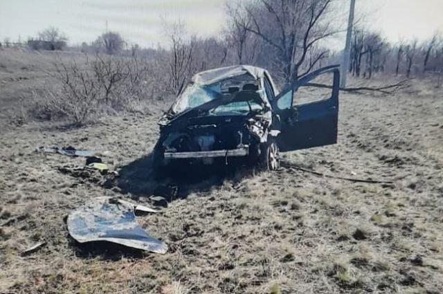 В ДТП на трассе Орск — Новоорск пострадал водитель Peugeot.