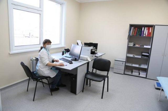 У врачей теперь есть свои отдельные кабинеты.