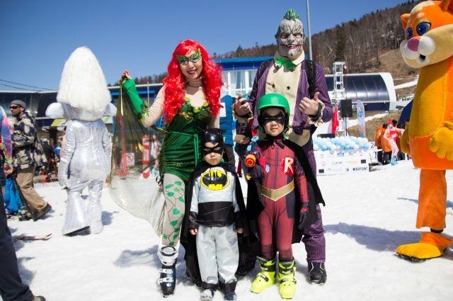 Семья Софроновых завоевала сразу два приза.