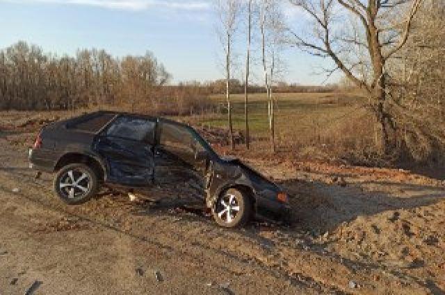 На трассе «Казань-Оренбург-Акбулак» столкнулись два автомобиля.