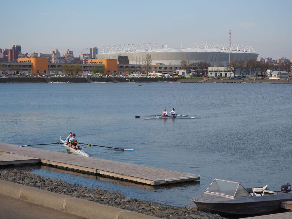 Так выглядит «Ростов-Арена» с Гребного канала