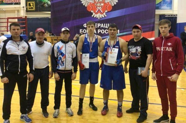 Боксёры Иркутской области стали призёрами первенства России
