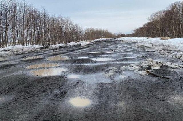 Владимир Солодов: дороги на Халактырский пляж просто нет