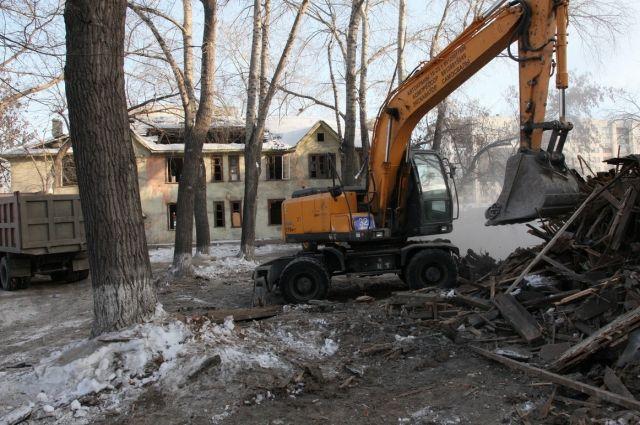 На месте снесенных домов построят новые жилые микрорайоны.