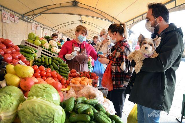 Сезон ярмарок открыт. Вовсех округах работает 120 рынков разного формата