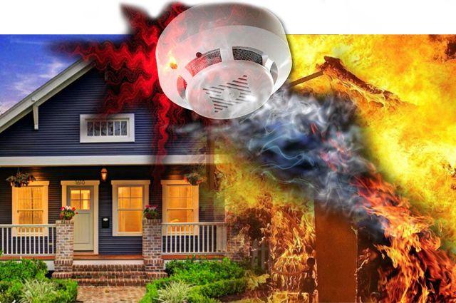 Пожарный извещатель может защитить ваш дом от огня.