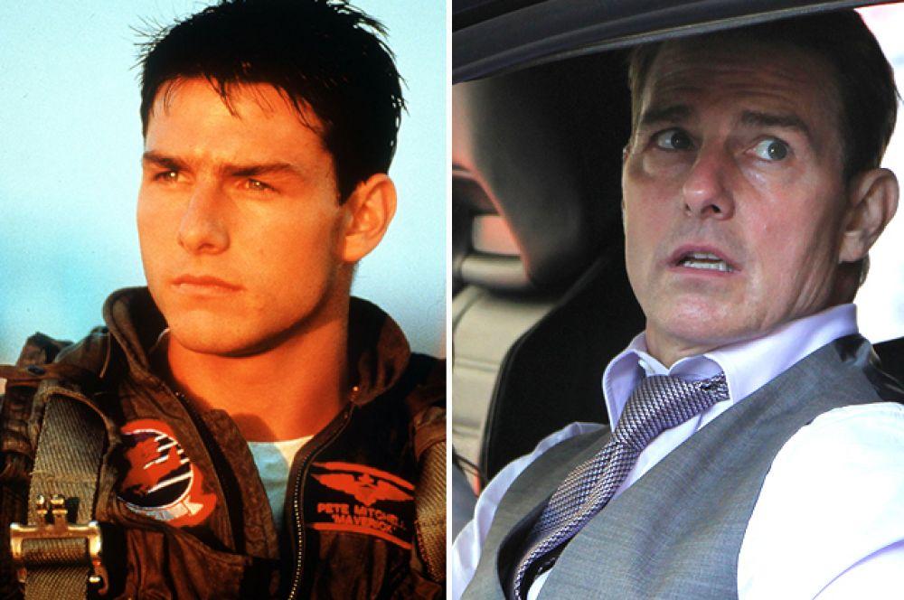 Том Круз – лейтенант Пит «Мэверик» Митчелл