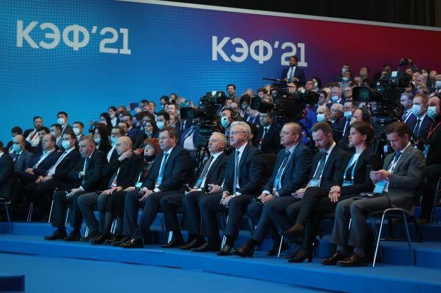 Большинство дискуссий форума было посвящено преодолению постпандемического кризиса.