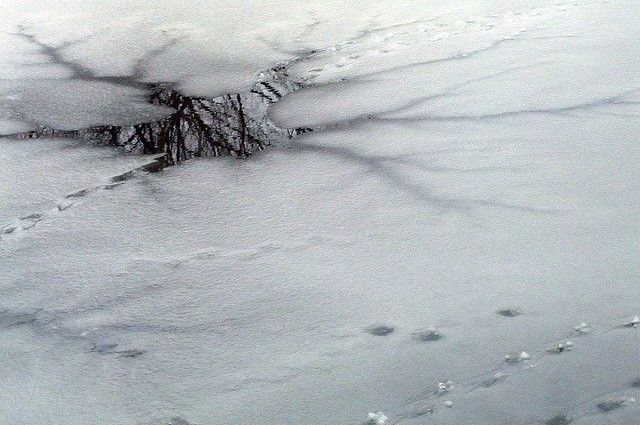 Накануне стало известно, что ледоход начался на реке Конде
